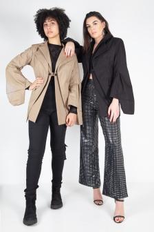 Image: Charlotte Ralph. Models Petra Blank & Selina Hall
